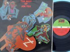 Joe Tex ORIG OZ LP Best of Joe Tex NM '84 Atlantic 812781 Southern Soul Funk