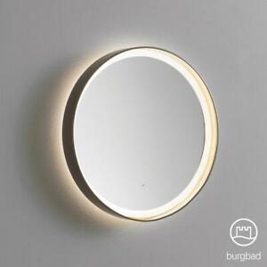 Burgbad Diva round illuminated mirror