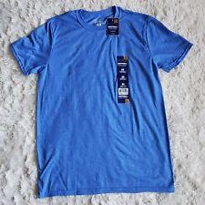 Gold Toe Cottonfx Men Crew Neck T-Shirt Blue Size M