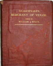 Books Antiquarian Collectible:  Merchant of Venice - Shakespeare 1871