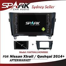 "9"" CARPLAY ANDROID AUTO 10.0 GPS SAT NAV BLUETOOTH FOR NISSAN QASHQAI 2014+ AD"