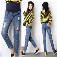 Overbumped Jeans Pants Trousers Maternity Pregnancy Skinny Slim M/L/XL/2XL