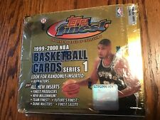 1999-2000 Topps Finest Series 1 NBA Basketball box