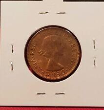 1955 Australian half Penny coin