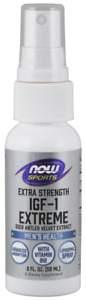 NOW Foods Sports IGF-1 Extreme Deer Antler Velvet Spray 2oz 80 Servings 9/2021ex