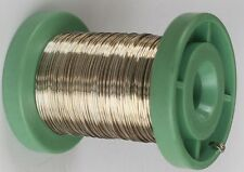 Easy Silver Solder Round Wire 0.50mm x 250mm Jewellery Repair-Hallmarkable