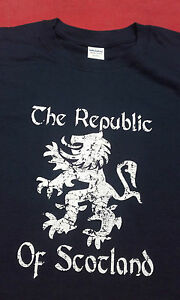 REPUBLIC OF SCOTLAND INDEPENDENCE T-SHIRT  new all sizes  - SCOTTISH REFERENDUM