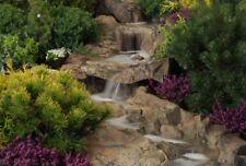 Bachlauf Set 2 Elemente groß Wasserfall Steinoptik Gartenteich FIF