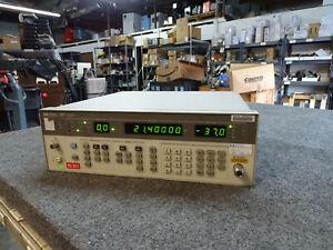 HP Agilent Keysight 8656B Signal Generator 0.1 - 990 MHz // FREE SHIPPING