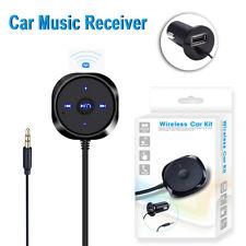 Vivavoce Ricevitore Bluetooth 4.0 AUX Auto Universale Speaker Smartphone USB