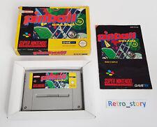 Super Nintendo SNES - Pinball Dreams - PAL - FAH