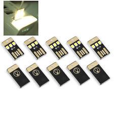 5Pcs Mini USB Power Light Night Camping Emergency  Power bank gadget tool PC New