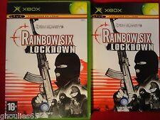 RAINBOW SIX LOCKDOWN XBOX TOM CLANCY'S RAINBOW SIX LOCKDOWN XBOX XBOX 360