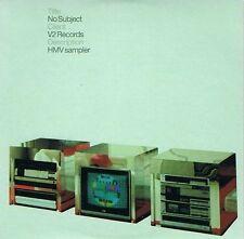 No Subject CD Album V2 VVR5024063P 2003 Promo
