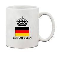 GERMAN Queen Crown Ceramic Coffee Tea Mug Cup