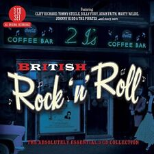 BRITISH ROCK'N'ROLL 3 CD NEU BOX-SET JIM DALE/ADAM FAITH/JIM DALE/TERRY DENE