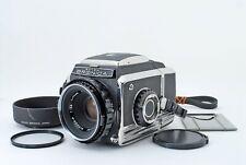 Zenza Bronica S2 Black Late Model w/Nikkor-P 75mm f/2.8 lens [Excellent++] JP
