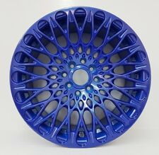 "16"" BLUE MESH ALLOY 7.75J FIT FORD FIESTA VW GOLF TOYOTA HONDA BMW MINI"