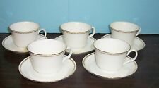LOT OF 5 MINTON REGAL CUPS AND SAUCERS NEVER USED FREE U S SHIPPING