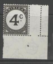 TRINIDAD SGD27 1947 4c BLACK MNH