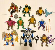 Vintage Teenage Mutant Ninja Turtles Action Figures TMNT  '88 '89 '90 Playmates