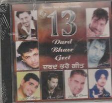 13 dard bhare Geet -Kaler Kanth,Kuldeep Manak,sardool,K S Makhan,Sabar ko  [Cd]