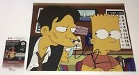 WILLEM DAFOE Signed 11X14 THE SIMPSONS IN PERSON Autograph JSA COA