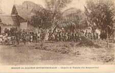 CARTE POSTALE NOUVELLE GUINEE MISSION DES SALOMON CHAPELLE DE TIMBUTZ