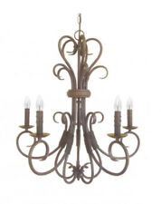 Decorative 5-light Foyer / Dining / Kitchen Chandelier in Oil Rubbed Bronze