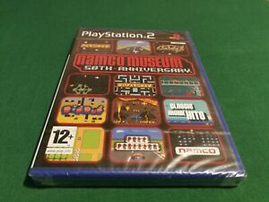 Namco Museum 50th Anniversary Brand New Factory Sealed Playstation 2 PS2 UK PAL