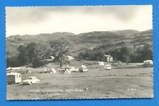 CALDON'S CARAVAN SITE,GLEN TROOL.REAL PHOTOGRAPHIC POSTCARD POSTED 1964
