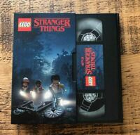 NEW LEGO EXCLUSIVE STRANGER THINGS 5005933 VIDEO TAPE NOTE BOOK CASSETTE - BNIB