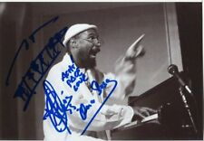 "Omar Sosa 1965- genuine autograph 5""x7"" photo signed In Person jazz composer"