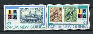 s8553) PAPUA & NEW GUINEA MNH** Nuovi** 1999, IBRA 2v (PAIR)