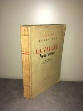 Jules Roy LA VALLEE HEUREUSE Charlot 1946 Ciel et Terre PIERRE JEAN JOUVE -CA39B