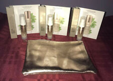 3X BareMinerals Skinlongevity Vital Power Infusion .25oz Each with Makeup Bag