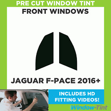 Pre Cut Window Tint - Jaguar F-Pace 2016 Front Windows