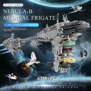 Mould King 21001 Star Wars The Nebulon B Medical Frigate Model Blocks Boys Toys