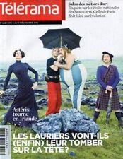 "telerama n°3229 frantz fanon sallie ford ""asterix IV"" bela tarr rudy ricciotti"