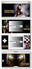 Iron Man Vinyl Skin Sticker for Nintendo DS Lite
