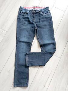 JOE BROWNS Size 16 Jeans Straight Leg L30 Blue High Rise