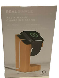 Apple Real Simple Watch Apple CHARGING STAND For Apple Series. 1,2,3,4,5  Bamboo