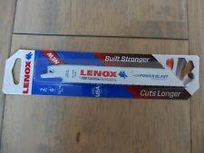 """Lenox Fire Rescue bois métal plastique 6"""" Scie Alternative Lame Pack De 2"""