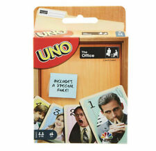 THE OFFICE EDITION UNO GAME - DUNDER MIFFLIN MICHAEL SCOTT FAMILY GAME NIGHT
