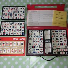 Vintage Collectable Mah Jong Game In Carry Case By Jackpot