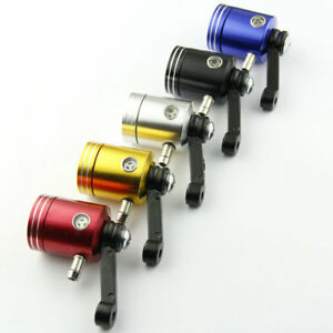 CNC Metal Brake Clutch Master Cylinder Fluid Reservoir Tank Oil Cup Motorcycle