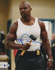 TERRY CREWS SIGNED 8X10 PHOTO BROOKLYN NINE BECKETT BAS AUTOGRAPH AUTO COA A