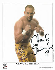 Wwe Chavo Guerrero P-876 Hand Signed Autographed 8X10 Promo Photo With Coa