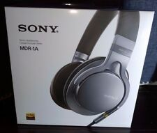Sony MDR-1A Premium Hi-Res Stereo Over-Ear Headphones - Silver ✔NEW✔