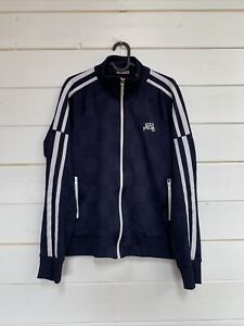 Energie Mens Vintage Track Jacket Blue Size M Itlay Made Sixty